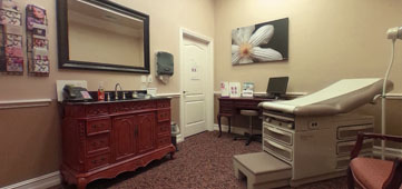 North Florida Plastic Surgery Center Procedure Room