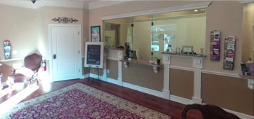North Florida Plastic Surgery Center Reception