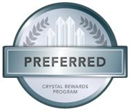 Preferred Crystal Rewards Program Logo