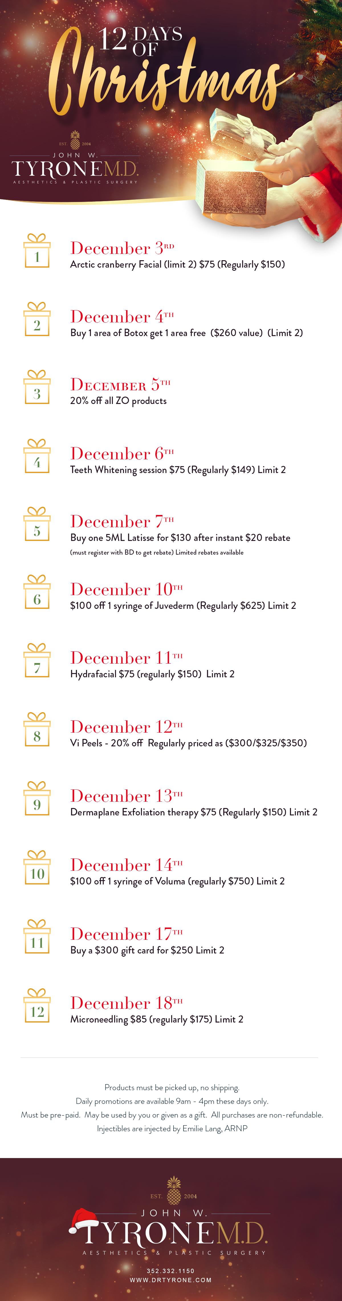 December 2018 Promotion